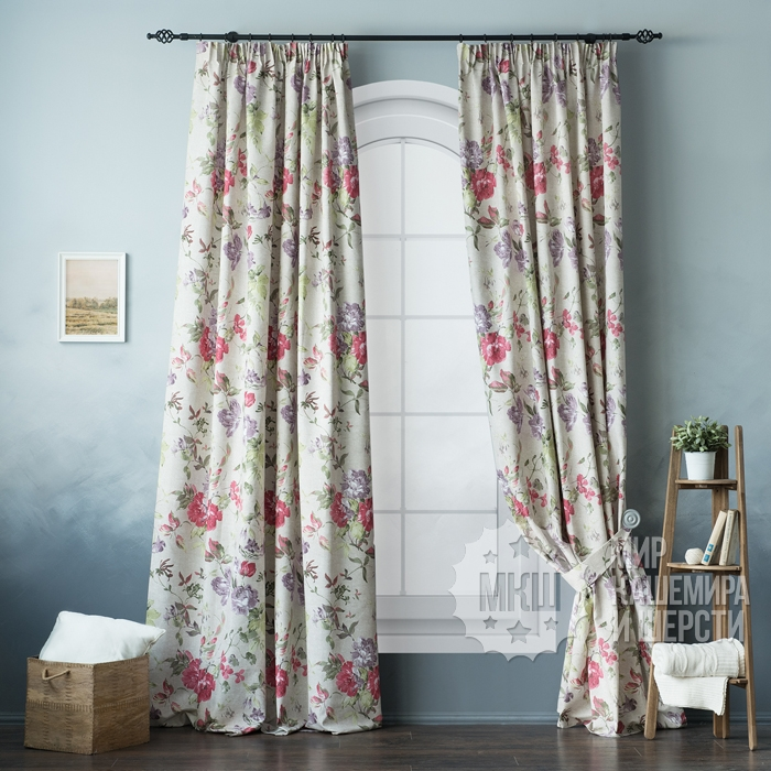 The set of curtains Summer (art. BL01-94-01) - (170x270) x2 cm. - pink